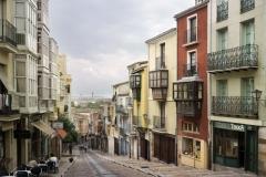 Calle Balborraz en Zamora