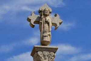 Crucero, indicador del Camino de Santiago